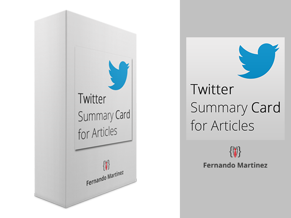 Twitter Summary Card for Joomla Articles Plugin